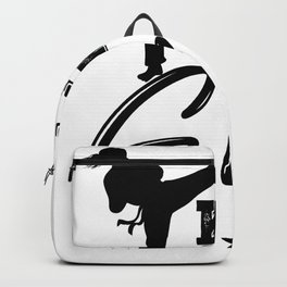 Karate martial arts sports power struggle gift Backpack
