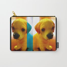 Pup Blues Carry-All Pouch