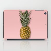 pineapple iPad Cases featuring Pineapple by Marta Li