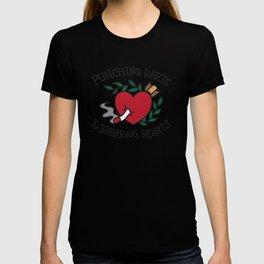 Punching Darts & Breaking Hearts T-shirt
