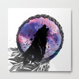 Wolf Dream Metal Print
