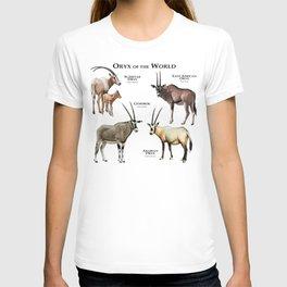 Oryx of the World T-shirt