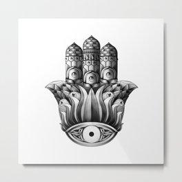 Ornate Jamsa Metal Print