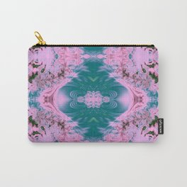 Japanese Water Gardens Fractal Abstract Carry-All Pouch