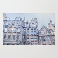 edinburgh Area & Throw Rugs featuring EDINBURGH by Marte Stromme