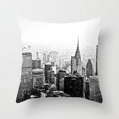 New York City Chrysler Building Throw Pillow