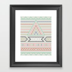 Pyramid ELM THE PERSON Framed Art Print