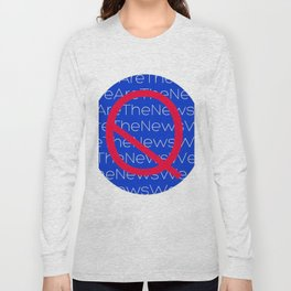 WE ARE THE NEWS Long Sleeve T-shirt