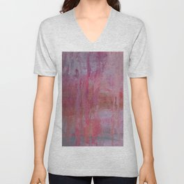 abstract river through the forest Unisex V-Neck