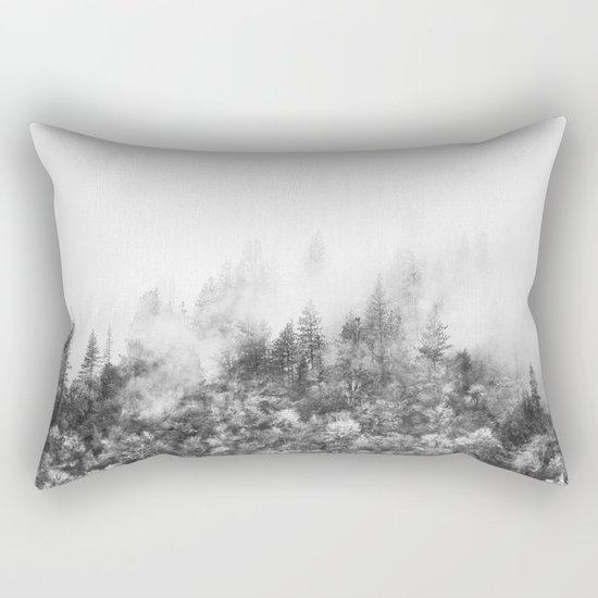 Monochromatic Landscape Rectangular Pillow