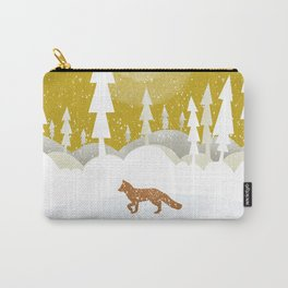 Winter night in the north Carry-All Pouch