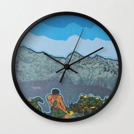 Lizardmen Wall Clock