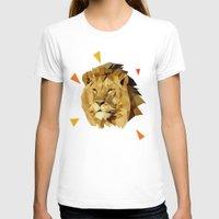 lion T-shirts featuring lion by gazonula