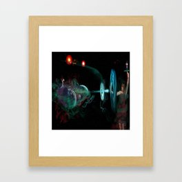 Destruction of the Universe Framed Art Print