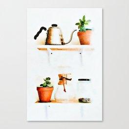 Plant Wall || #society6artprint #buyart Canvas Print