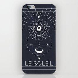 Le Soleil or The Sun Tarot iPhone Skin
