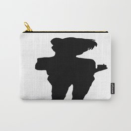 Shadow Drinking Tea Carry-All Pouch