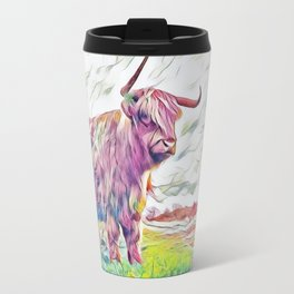 THE Pastel Rainbow Ox Travel Mug