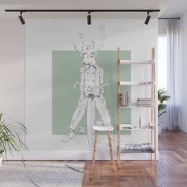 Weird & Wonderful: Racing Reindeer Wall Mural