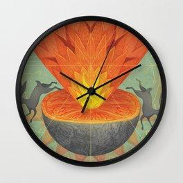 Catastrophe III Wall Clock