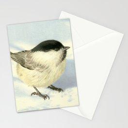 Chilly Chickadee Stationery Cards