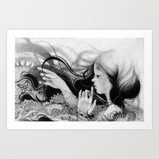 Melodía  Art Print