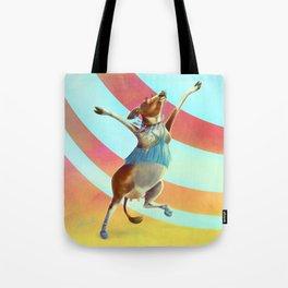 Cowchella - Music Festival Inspired Bovine Tote Bag