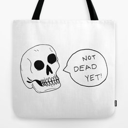 Positive Skeleton Tote Bag