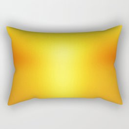 Hot Orange Rectangular Pillow