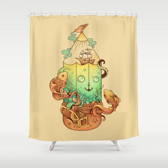 Joy of Creativity Shower Curtain