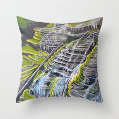 Catawba Falls Throw Pillow