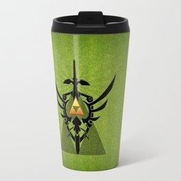 Zelda Link Triforce Travel Mug