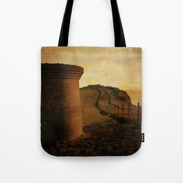 On Shakespeare Cliff Tote Bag