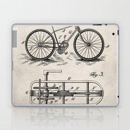 Bike Patent - Bicycle Art - Antique Laptop & iPad Skin