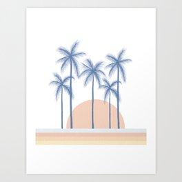 Summer Sunset Art Print