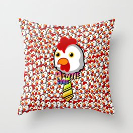 HenTie Sama Throw Pillow