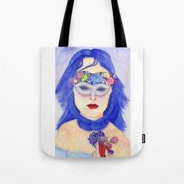 Woman flowers Tote Bag