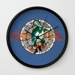 Bosch Flute-billed Blue Duck Wall Clock