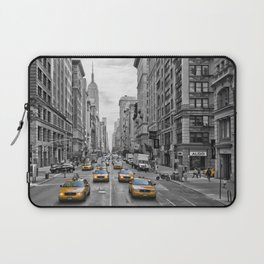 5th Avenue NYC Traffic Laptop Sleeve