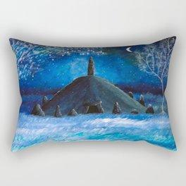 The Lonely Barrow Rectangular Pillow