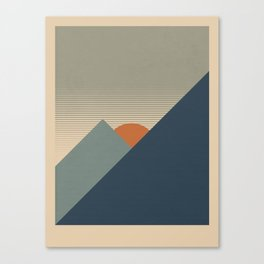 Rocky Mountain Canvas Print