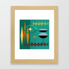 Watching From The High Tower Framed Art Print