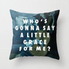 Old Unbeliever Throw Pillow