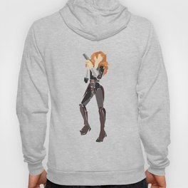 Black widow Hoody