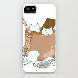 Better With Marshmallows iPhone Case