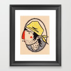 ...smelly scruffbag pirate Framed Art Print