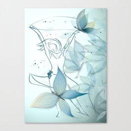Le positive design dinamique du madame butterfly Canvas Print