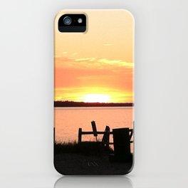 Long Island Sunset iPhone Case