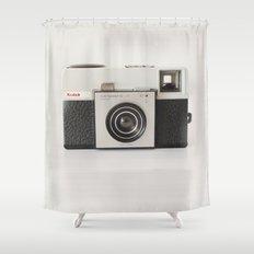 vintage camara Shower Curtain