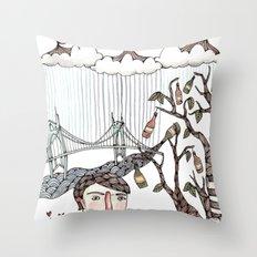 Portland, Oregon Throw Pillow